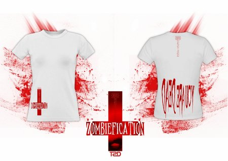 T-Shirt (weiblich): Egodesign - Zombiefication\\n\\n22.09.2015 19:27